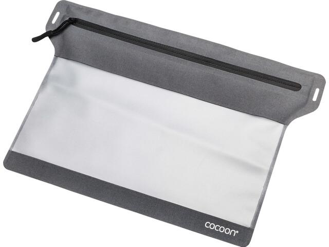 Cocoon Zippered Flat Document Bag M, szary